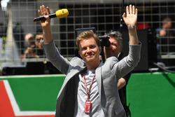 Nico Rosberg, Ambasciatore Mercedes-Benz in griglia