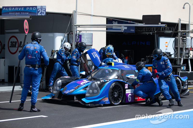 #6 360 Racing Ligier JS P3 - Nissan: Terrence Woodward, Ross Kaiser, James Swift