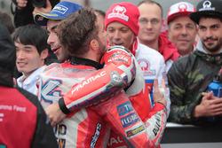 Ganador, Andrea Dovizioso, Ducati Team, tercero, Danilo Petrucci, Pramac Racing
