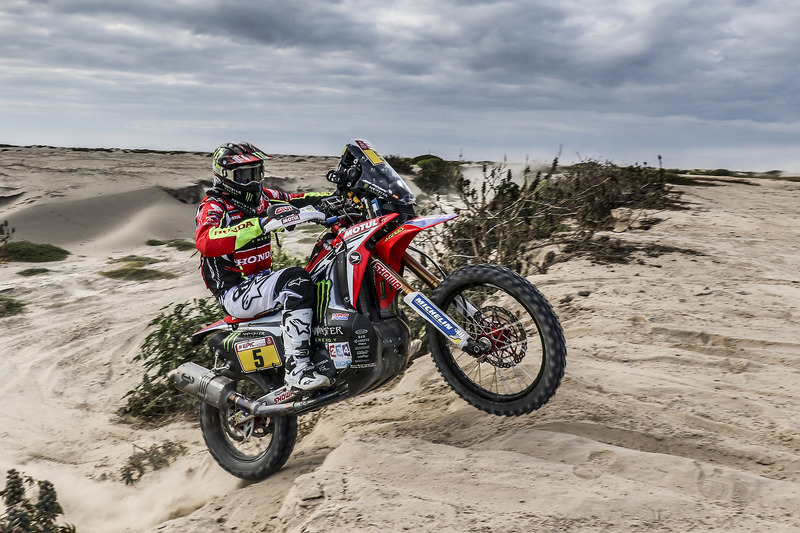 #5 Monster Energy Honda Team: Хоан Барреда Борт
