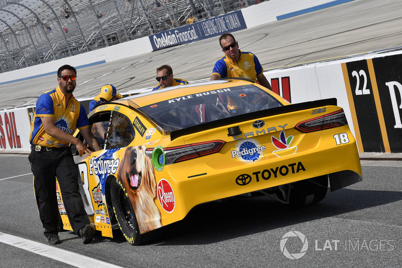 Kyle Busch, Joe Gibbs Racing, Toyota Camry Pedigree