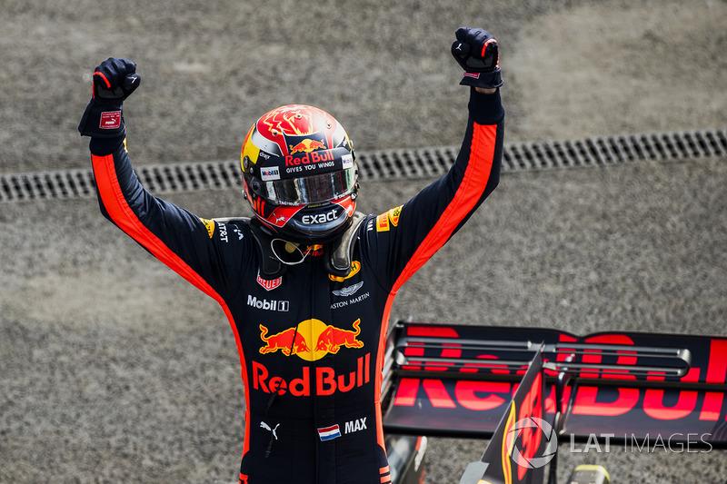 Ganador, Max Verstappen, Red Bull Racing