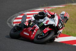 # 21 Yamaha Factory Racing Team: Katsuyuki Nakasuga, Alex Lowes and Michael van der Mark