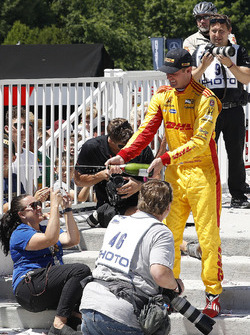 2. Ryan Hunter-Reay, Andretti Autosport Honda