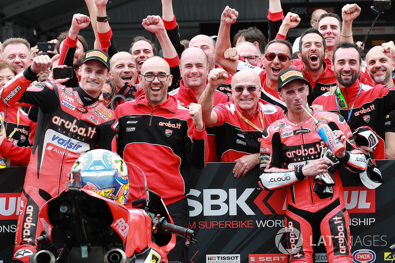 Third place Chaz Davies, Aruba.it Racing-Ducati SBK Team