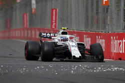 Retiro de carrera de Sergey Sirotkin, Williams FW41