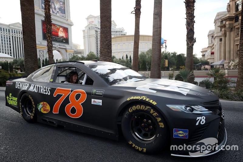 Martin Truex Jr Furniture Row Racing Toyota At Champions Week