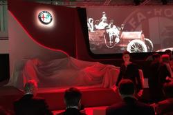 L'Alfa Romeo-Sauber sotto il telo