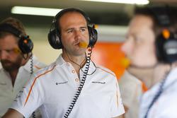 Tom Stallard, ingegnere di pista, McLaren