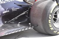 Red Bull Racing RB14, dettaglio del fondo