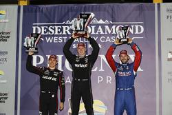 Podium: 1. Josef Newgarden, Team Penske Chevrolet; 2. Robert Wickens, Schmidt Peterson Motorsports H