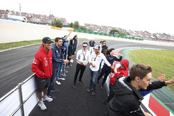 Drivers parade for the 2018 Spanish GP