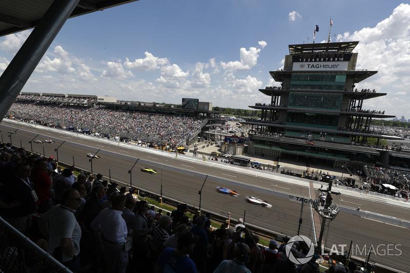 Marco Andretti, Herta - Andretti Autosport Honda, Scott Dixon, Chip Ganassi Racing Honda