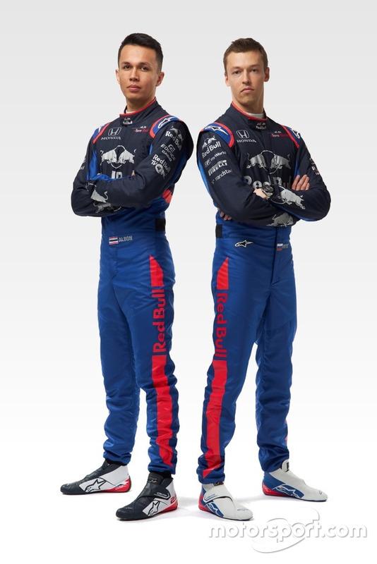Alex Albon, Daniil Kvyat, Toro Rosso