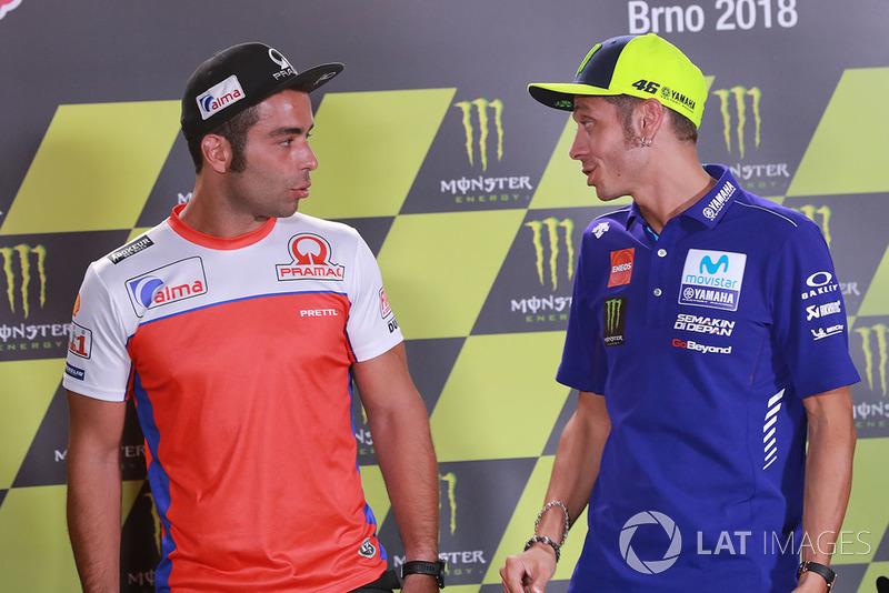 Danilo Petrucci, Pramac Racing, Valentino Rossi, Yamaha Factory Racing