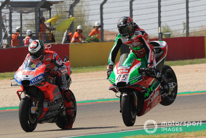 Jorge Lorenzo, Ducati Team, Scott Redding, Aprilia Racing Team Gresini