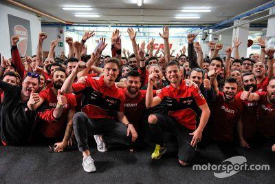 Ducati feiert 350. WSBK-Sieg
