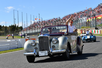 Stoffel Vandoorne, McLaren, durante la drivers parade