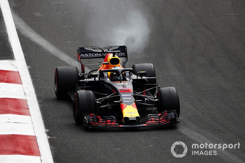 La terrible série de Ricciardo