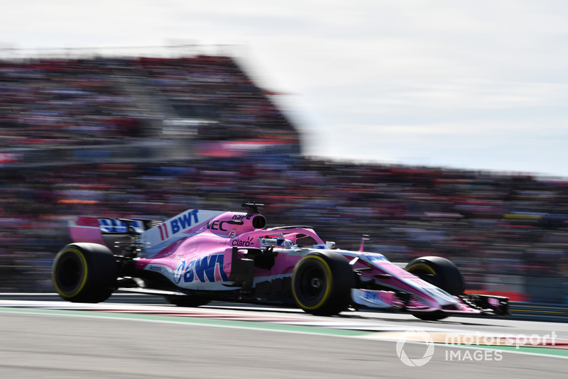 8e : Sergio Pérez (Racing Point Force India)