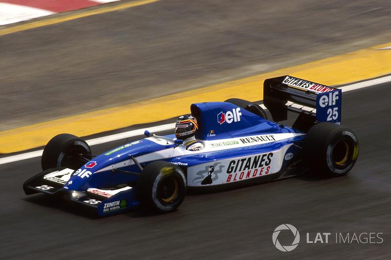 Тьєррі Бутсен, Ligier JS37 Renault