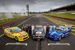 Tim Slade, Brad Jones Racing Holden, Kim Jones, Brad Jones Racing Holden, Norm Beechey, Nick Percat, Brad Jones Racing Holden, Macauley Jones, Brad Jones Racing Holden, Brad Jones, Brad Jones Racing Holden, Todd Hazelwood, Brad Jones Racing Holden, Tim Blanchard, Brad Jones Racing Holden