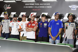 Tito Rabat, Estrella Galicia 0,0 Marc VDS, Cal Crutchlow, Team LCR Honda, Marc Marquez, Repsol Honda Team, Andrea Dovizioso, Ducati Team, Maverick Viñales, Yamaha Factory Racing, Andrea Iannone, Team Suzuki MotoGP