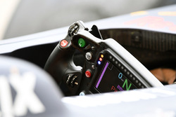 Red Bull Racing RB13 steering wheel detail