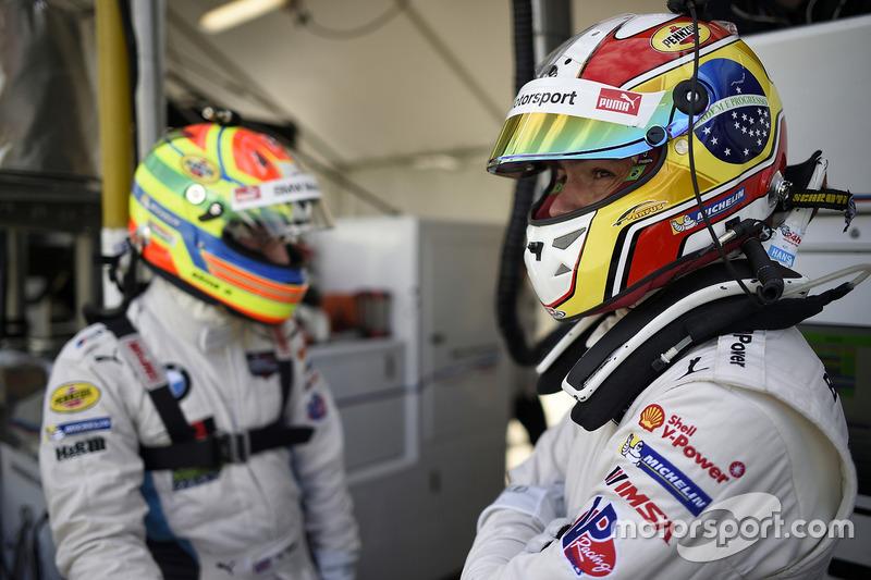 Augusto Farfus, BMW Team RLL; Alexander Sims, BMW Team RLL