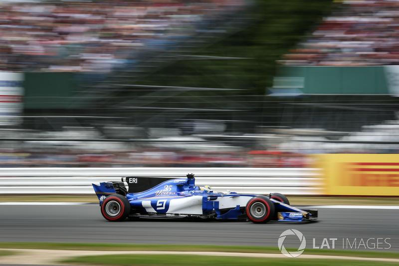 14e Marcus Ericsson, Sauber
