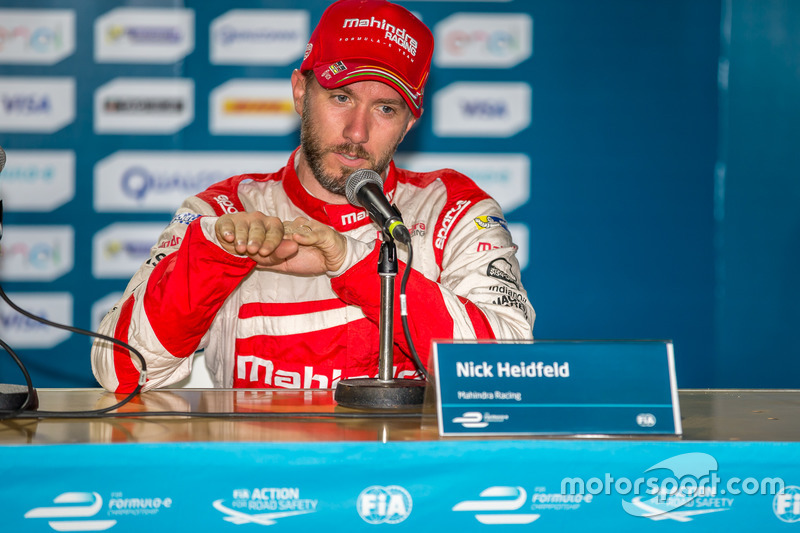 3. Nick Heidfeld, Mahindra Racing