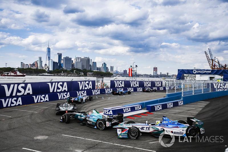 Nelson Piquet Jr., NEXTEV TCR Formula E Team, Antonio Felix da Costa, Amlin Andretti Formula E Team