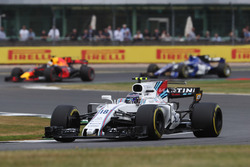 Lance Stroll, Williams FW40, Daniel Ricciardo, Red Bull Racing RB13 and Pascal Wehrlein, Sauber C36