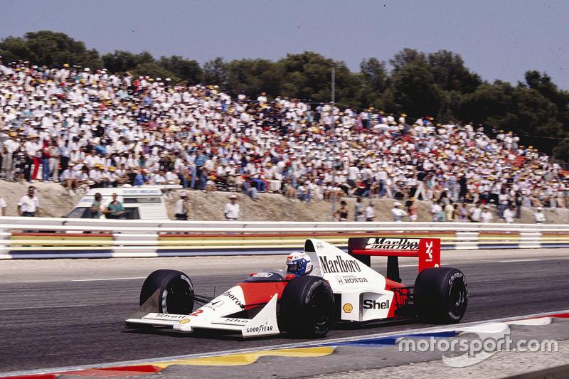 Ален Прост, McLaren MP4/5 Honda