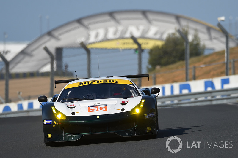 5. GTE-Am: #55 Spirit of Race, Ferrari 488 GTE