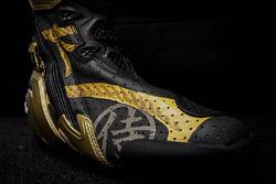 Les bottes dorées de Dani Pedrosa, Repsol Honda Team, pour le Grand Prix du Japon