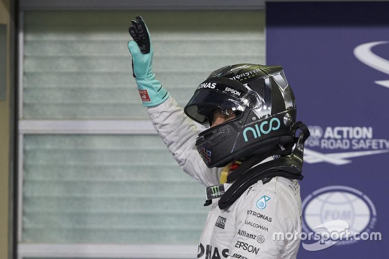 Segundo Nico Rosberg, Mercedes AMG F1