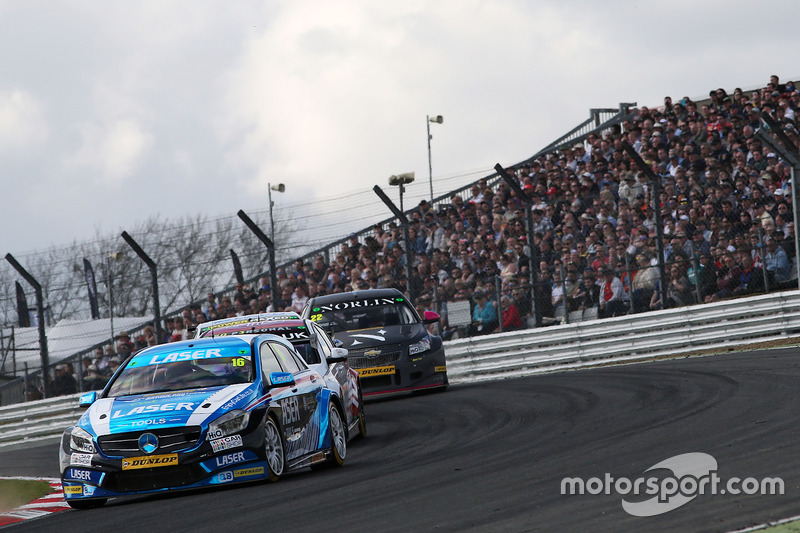 Aiden Moffat, Laser Tools Racing, Mercedes Benz A-Klasse