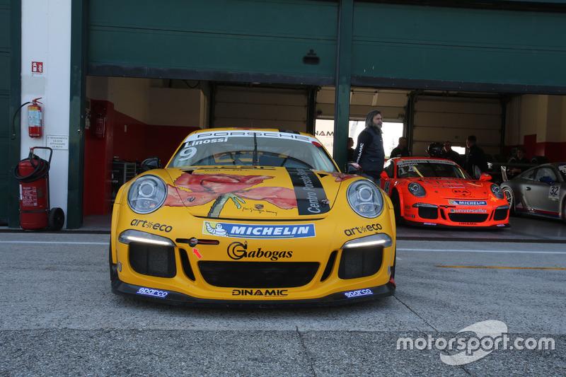 Porscche 911 GT3 Cup di Francesca Linossi, Dinamic Motorsport