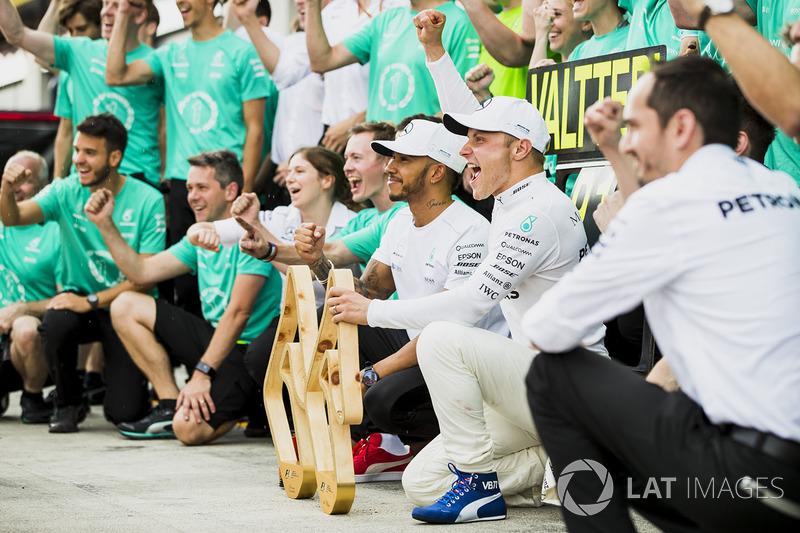 Валттері Боттас, Льюіс Хемілтон, Mercedes AMG F1, команда Mercedes