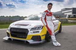 Marco Melandri e l'Audi Sport TT Cup