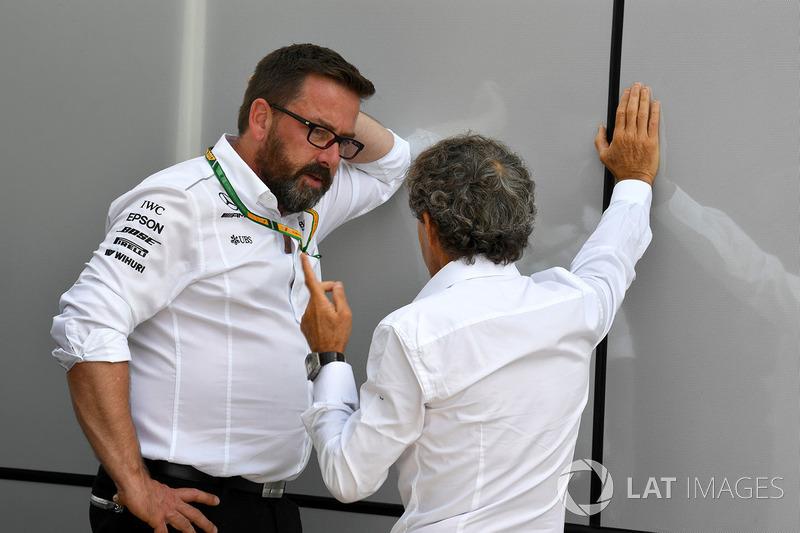 Советник Renault Sport F1 Team Ален Прост