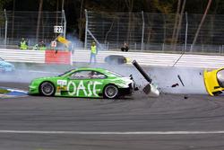 Marin Tomczyk, Team Abt Sportsline Junior Audi TT crashes