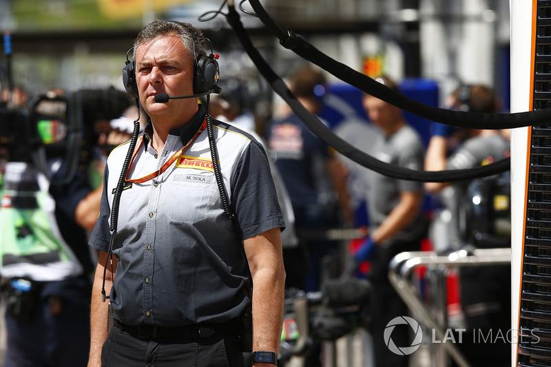 Маріо Ізола, гоночний директор Pirelli