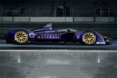 Monoplace Maserati imaginaire