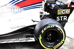 Williams FW40: Heckpartie