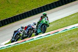#8 Team Bolliger Switzerland, Kawasaki ZX 10R: Horst Saiger, Roman Stamm, Michaël Savary