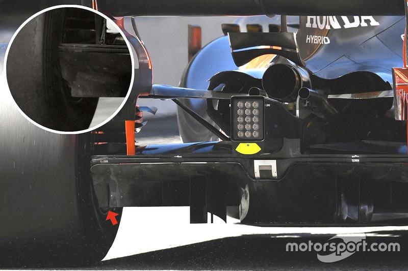 McLaren MCL32 arka detay