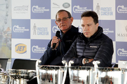 Dickie Stanford and Jonathan Williams in the Silverstone Classic press conference
