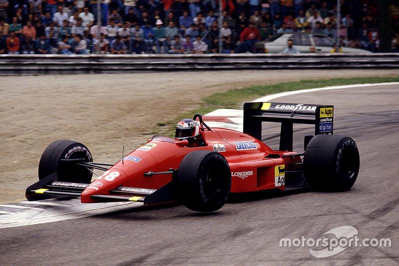 Gerhard Berger, Ferrari F187